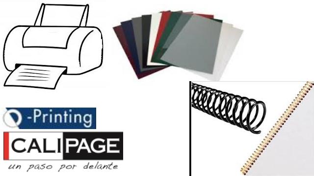 CALIPAGE (Q-Printing): Kit de Encuadernación en Sant Cugat del Vallès