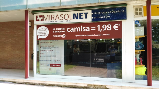 MIRASOL NET Laundry Dry Cleaning Service in Sant Cugat del Valles