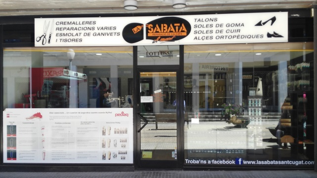 LA SABATA MERCAT TORRE BLANCA Zapatero Reparación de Calzado en Sant Cugat del Vallès y Copias Llaves