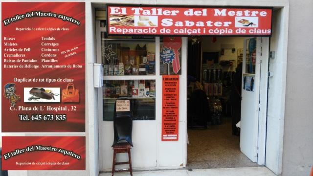 EL TALLER DEL MESTRE SABATER en Sant Cugat Reparación Calzado y Copias Llaves